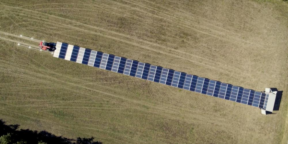 Quand le solaire devient mobile
