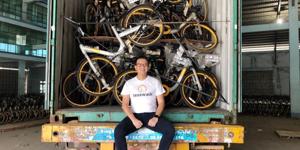 D'anciens vélos en libre service retapés pour des enfants de Birmanie