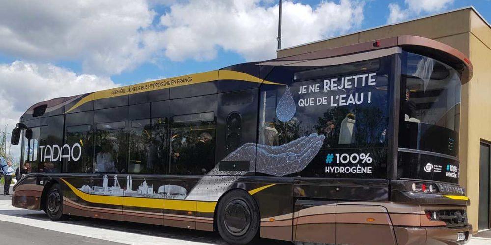 Pas-de-Calais : les premiers bus à hydrogène de France