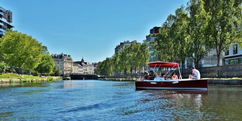 Rennes : des bateaux électriques pour voguer sur la Vilaine