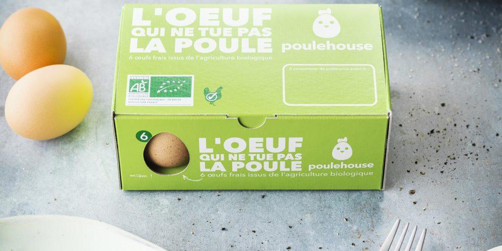 Poulehouse : les premiers oeufs français garantis sans broyage