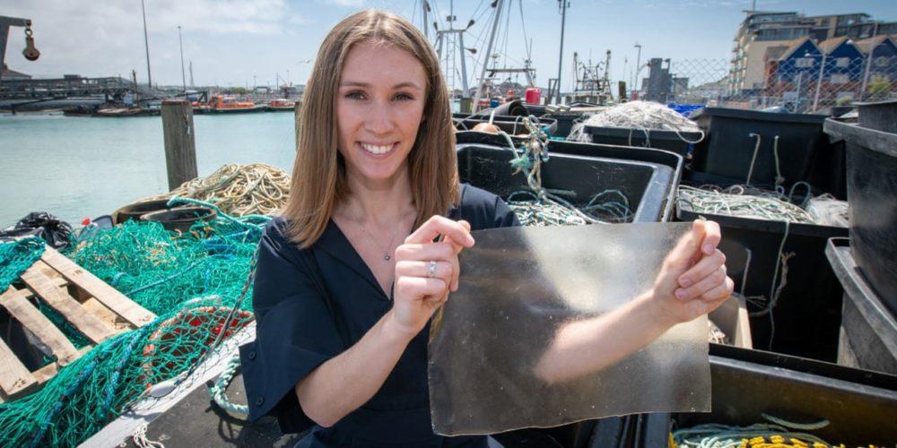 Un bioplastique à base de déchets de poisson