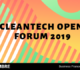 CleanTech Open France lance son forum 2019