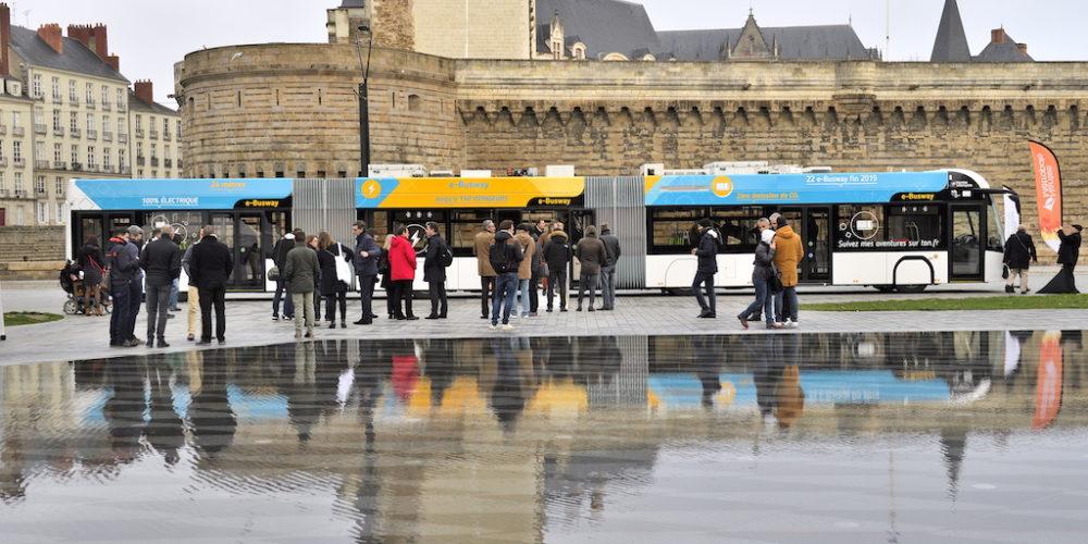 À Nantes, la ligne 4 passe aux bus 100% électriques
