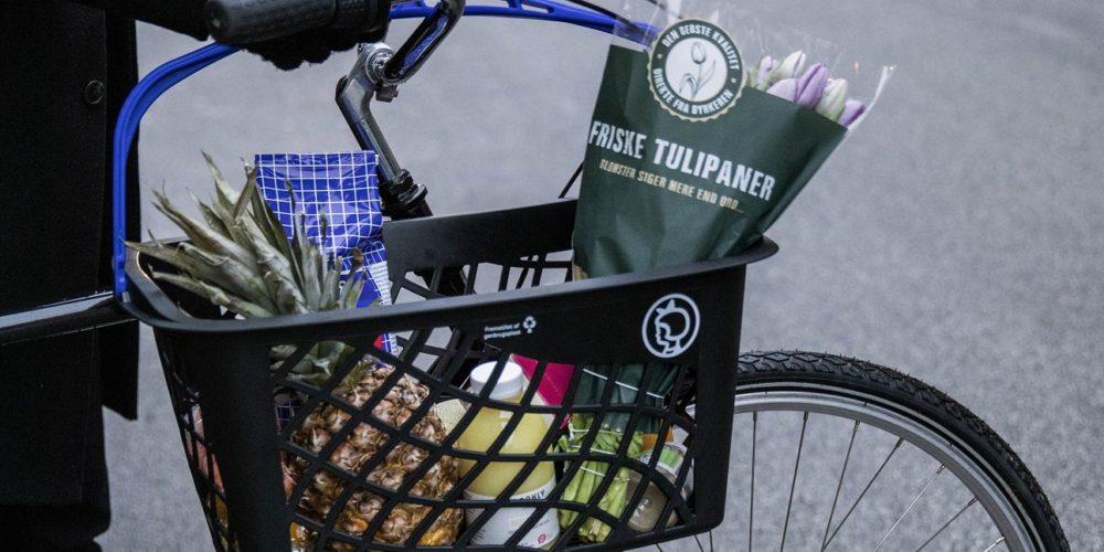 Au Danemark, des paniers de courses consignés