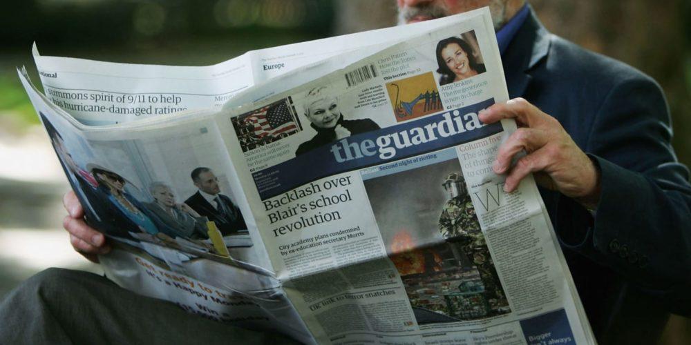 The Guardian bannit les publicités des sociétés gazières et pétrolières