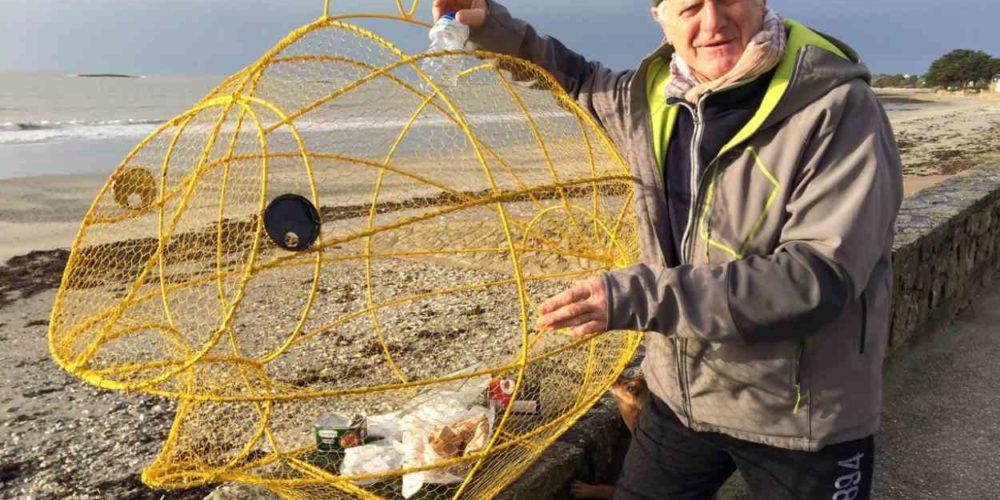 Bretagne : un « poisson-poubelle » qui avale les déchets