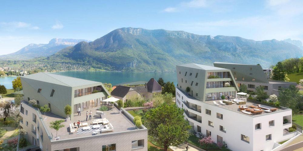 Annecy : des logements bientôt chauffés et rafraîchis par l'eau du lac