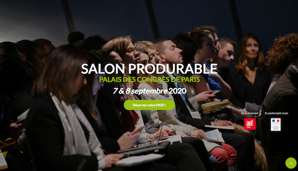 Produrable : du 7 au 8 septembre 2020