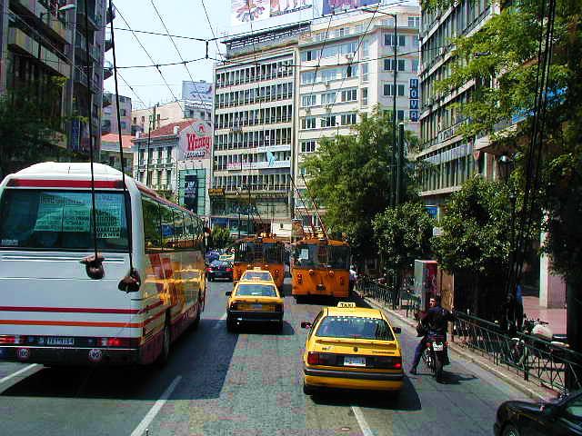 Grèce : le centre d'Athènes va se passer de voiture pendant trois mois