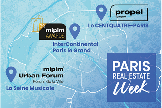 La Paris Real Estate Week, du 14 au 17 septembre